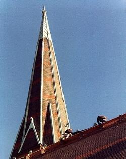 Historic roof repair contractor in Massachusetts