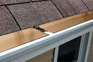 Gutter installation in Branford