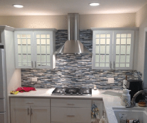 Kitchen backsplash installation in La Grange, IL