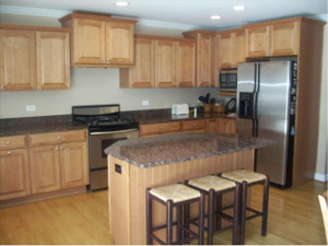 Kitchen Island Installation In Downers Grove, IL