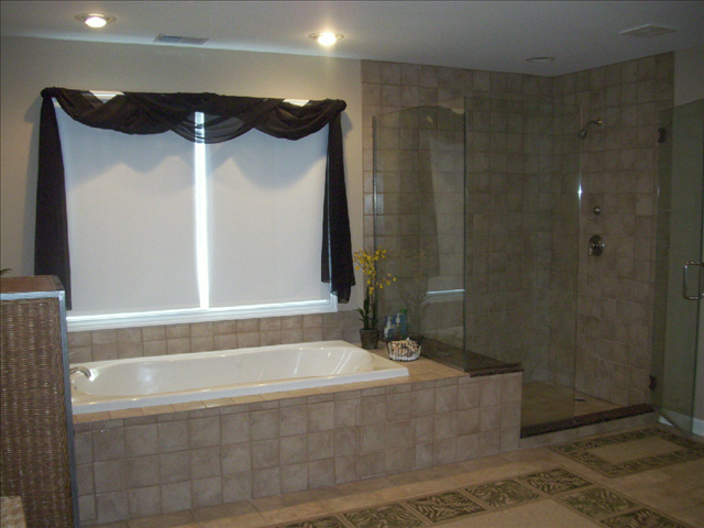 Finished Bathroom Remodeling Project