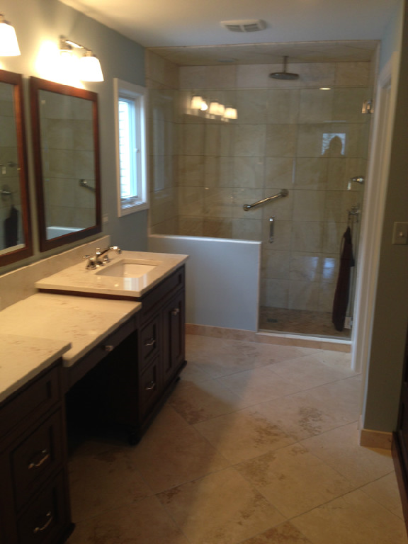 bathroom remodeling in Chicago Suburbs