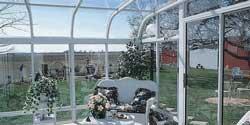 curved eave sunrooms in Chicago Suburbs