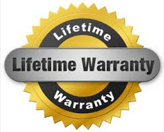 True Lifetime Transferable Warranty