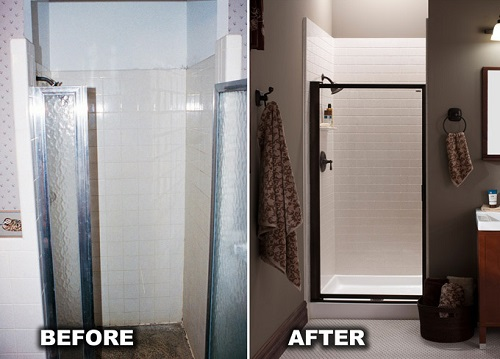 Walk In Showers Installation Toledo Luxurious Shower