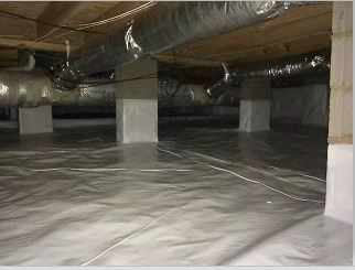 A Moisture Barrier Is The Most Crucial Component Of Crawl E Waterproofing