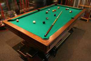 Pool table setup in Point Pleasant Beach