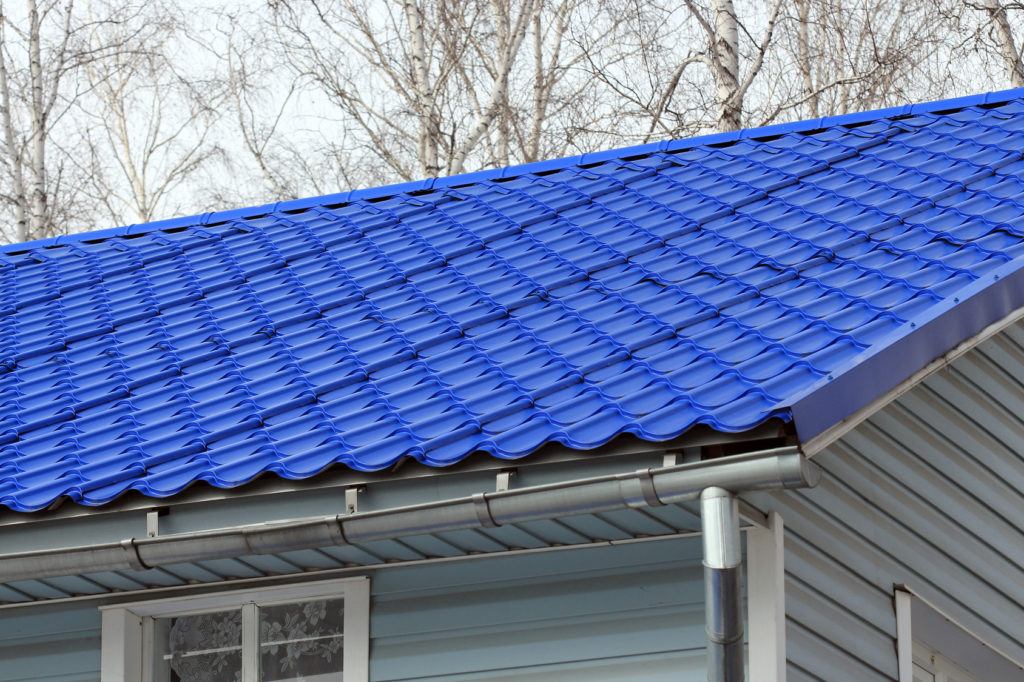4 different types of metal roofing for Tin roof styles