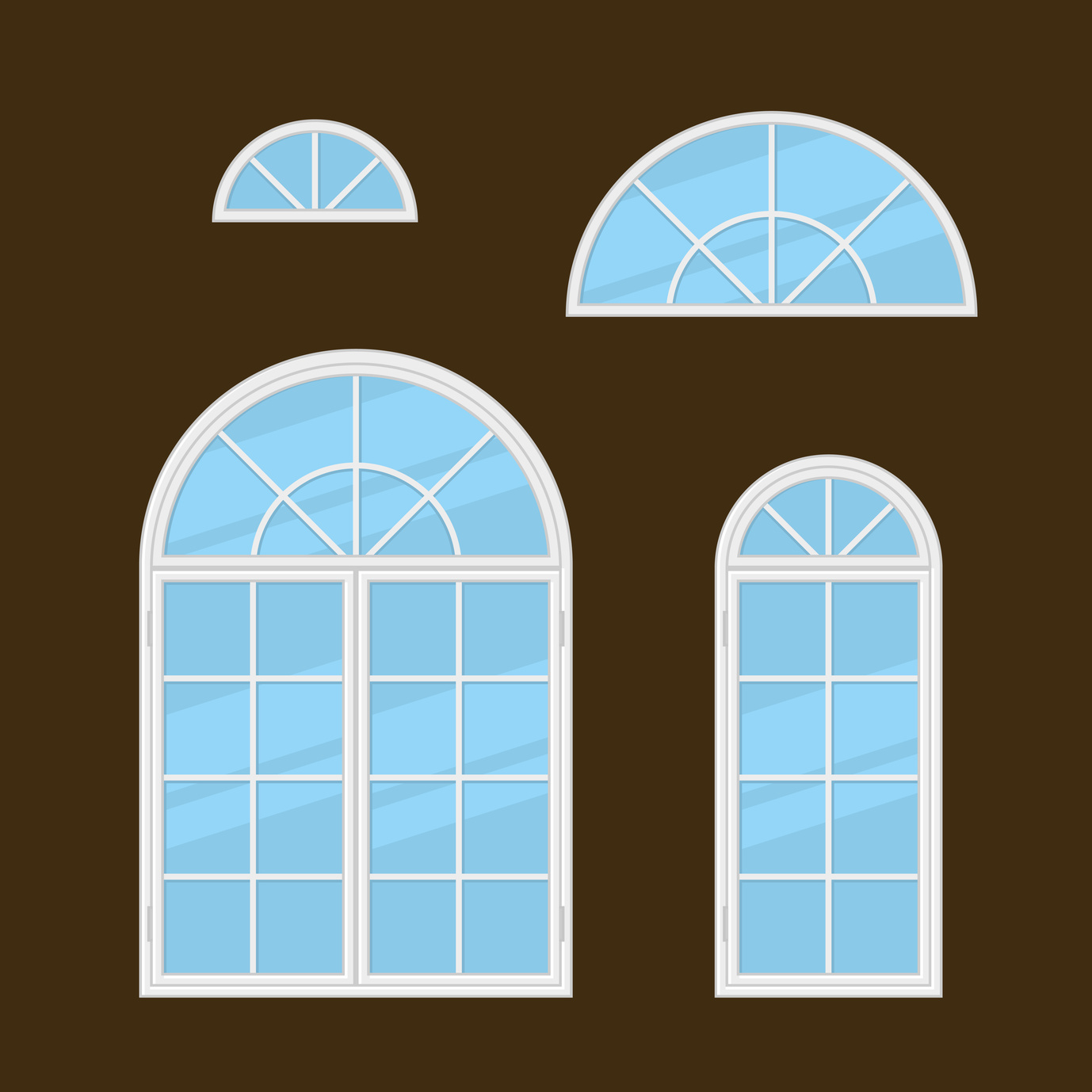 4 window treatment ideas for arched windows for Top window design