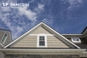 LP SmartSide engineered wood siding