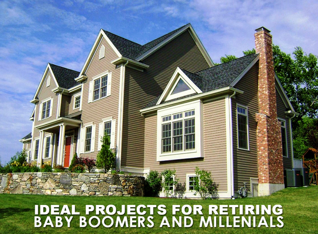 Projects for Retiring Baby Boomers and Millenials