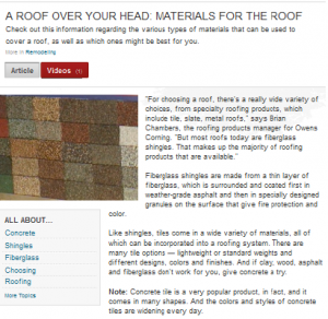 Why You Must Choose Gig Harbor Roofing Materials Based on Location When shopping for roofing materials, most homeowners concentrate on either...