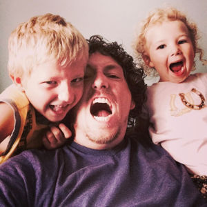 Owner Ian Gattuso and Children