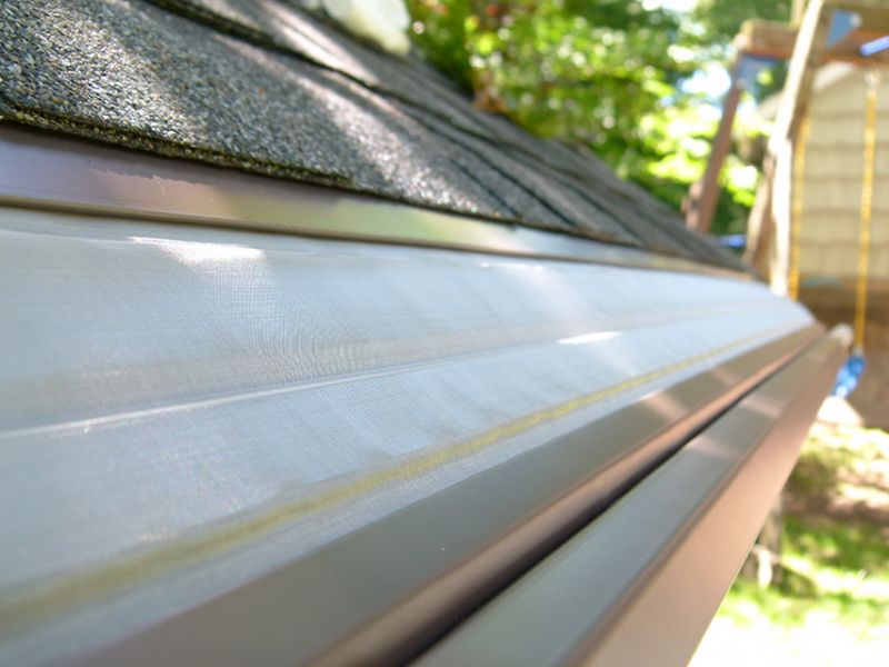 The roof of your  house is basically a big area that collects rain. When debris falls on it, it...