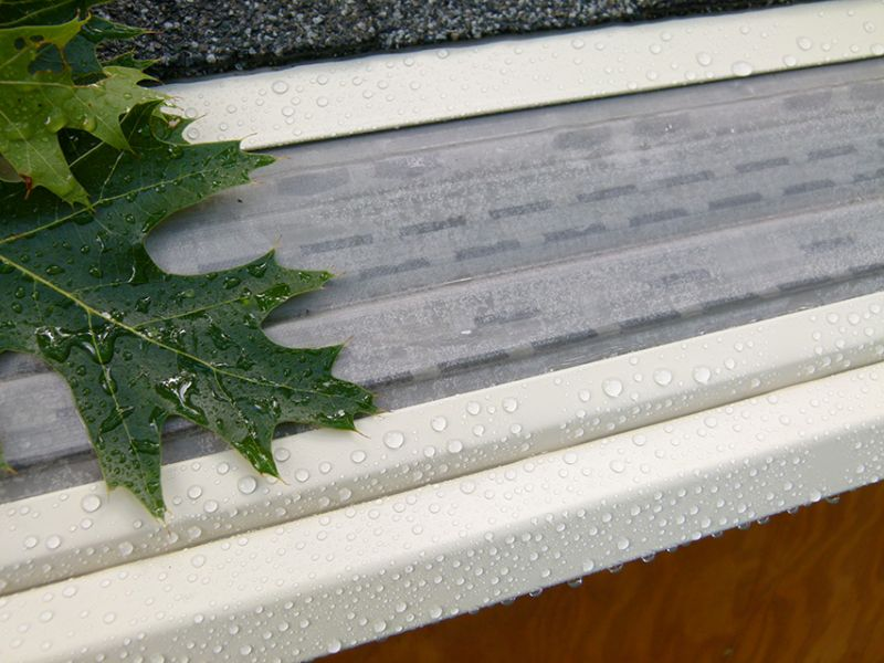 The Best Gutter Guard Against Fir Needles Gutter