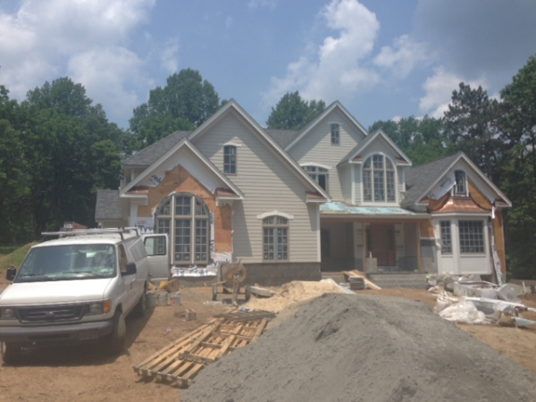 Custom home, located in North Jersey.  Home is insulated using certainteed fiberglasss insulation.