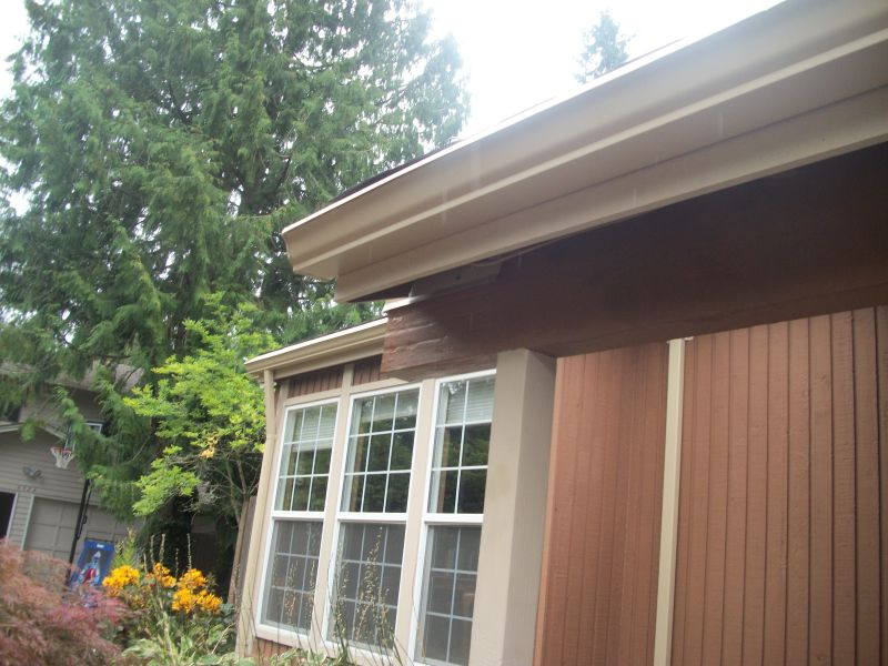 There is so much rainfall in the Northwest that having an adequate rain gutter system on your home is essential...