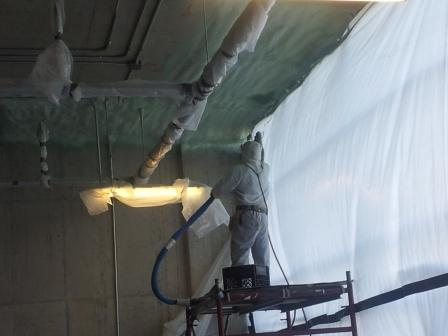 spray foam commercial