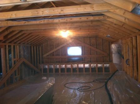 spray foam residential renovation