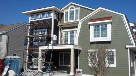 Coastal's Spray Foam Engineers utilized both open and closed cell foam for this new construction residence in Margate City, NJ,...