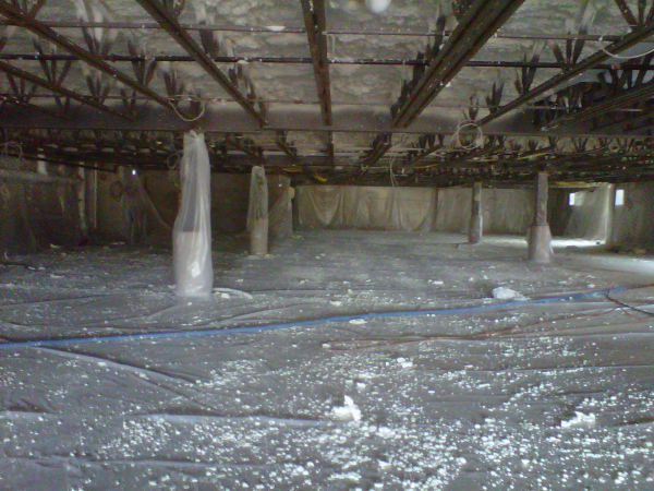 Coastal was contracted by THP Properties to insulate a residential parking garage in Harleysville, PA. Open cell foam was used...