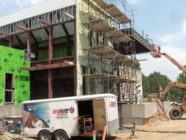 Coastal was contracted by GH Phipps to insulate an addition to the Gottlieb School for the Deaf and Blind in...