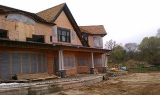 Coastal was contracted by Old Town Barns to insulate this new construction residence in East Setauket, NY....
