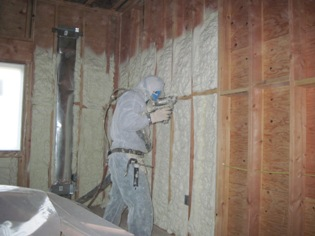 Coastal was contracted by Rebolo Inc. to insulate this new construction home. Open cell foam was utilized in the residence's...