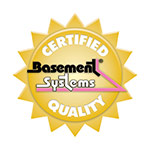 Basement Systems Badge