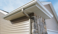 Multi-family gutters in Illinois