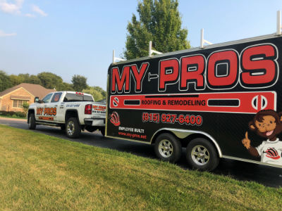 My-Pros roofing contractors in Loves Park, Rockford, Belvidere, IL