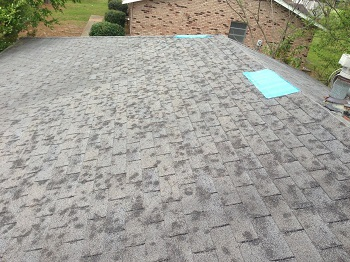 hail damage repair in Central Oklahoma
