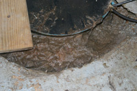 Sump Pump Clogged with Mud in PA