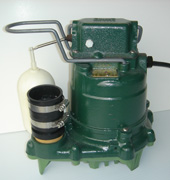 submersible cast-iron sump pump in NJ