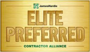 Providing professional installs of James Hardie Siding