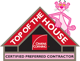 Owens Corning Top of the House contractor