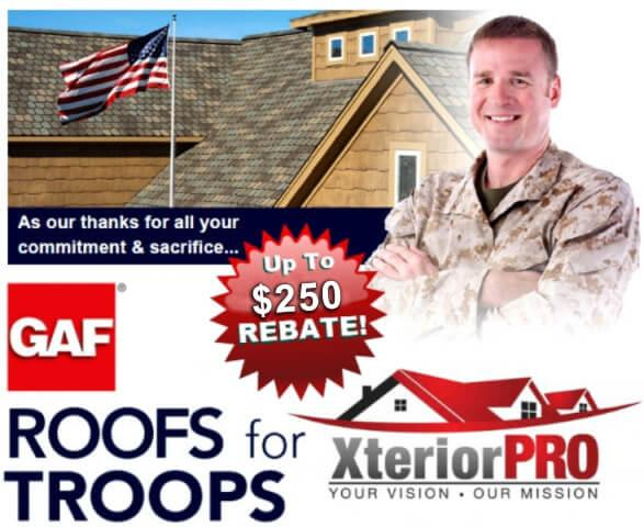 Roofing for the troops