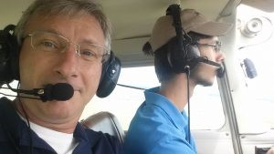 Have you ever flown in an airplane with an 18-year-old pilot? I went for a flight with our office manager,...