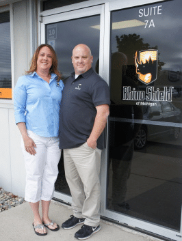 The owners of Timeless Coatings, LLC, Marc and Sheryl Mercier,