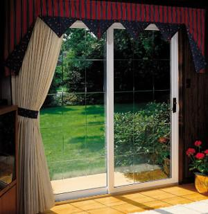 Interior vinyl patio door