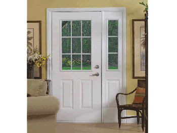 Simple Entrance Door