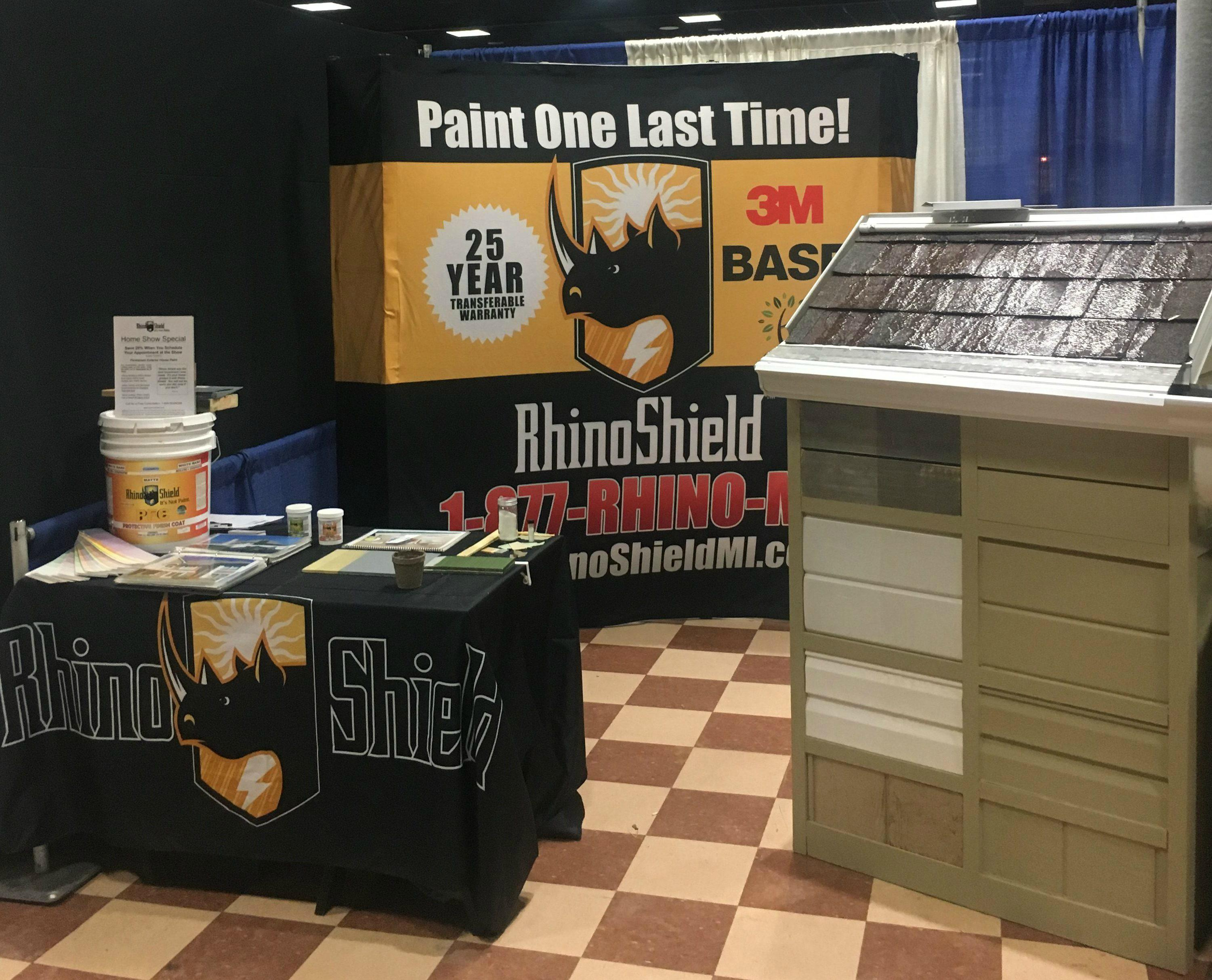 Thanks to everyone who came out to see Rhino Shield House Painters at the Suburban Philadelphia Home Show in Valley...