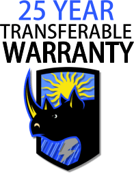 25 year transferable warranty