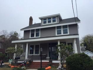 vinyl siding repair and installation in Greater Tidewater Area