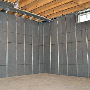 Basement To Beautiful™ Insulated Wall Panels