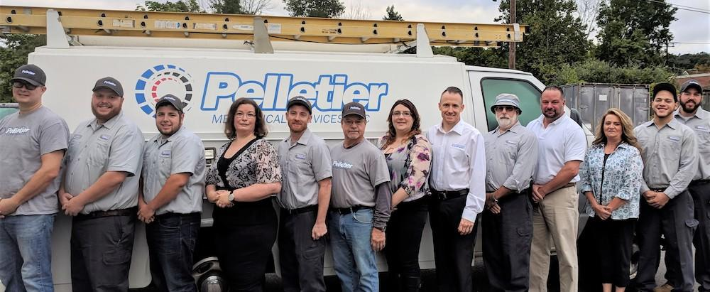 Pelletier Mechanical Services, LLC Group Photo