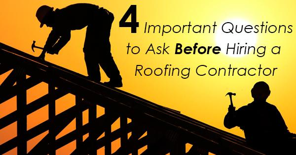 Under normal circumstances, your home's roof should be inspected at least once or twice a year by a professional. Not...