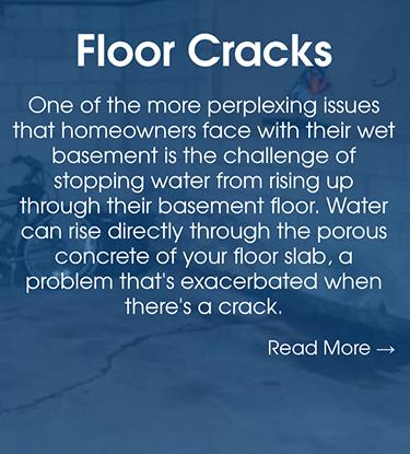 Basement Crack Repair in Colorado