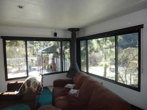 Fiberglass Windows Painted Dark Bronze