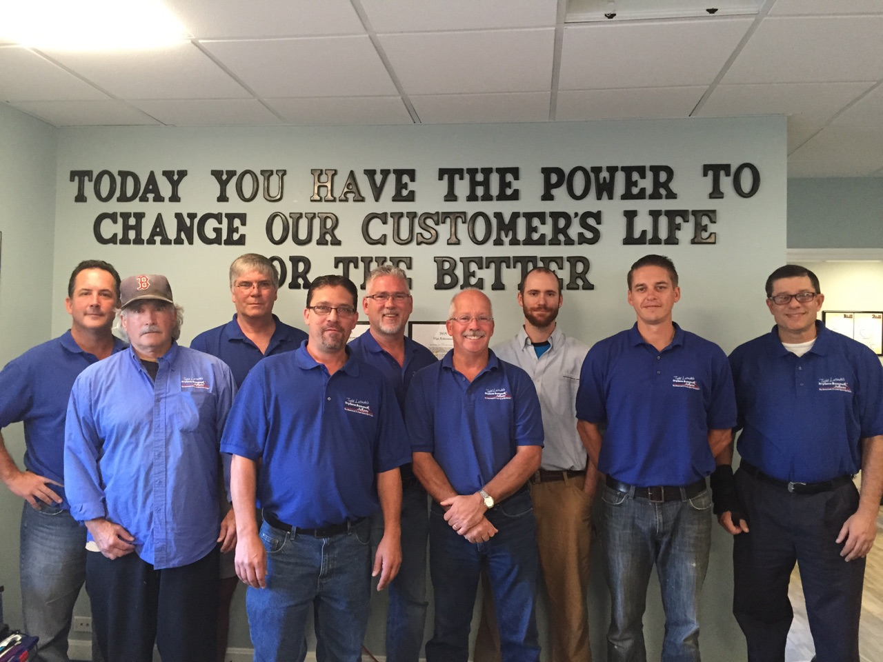 DryZone Basement Systems' sales team